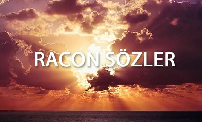 racon sözler