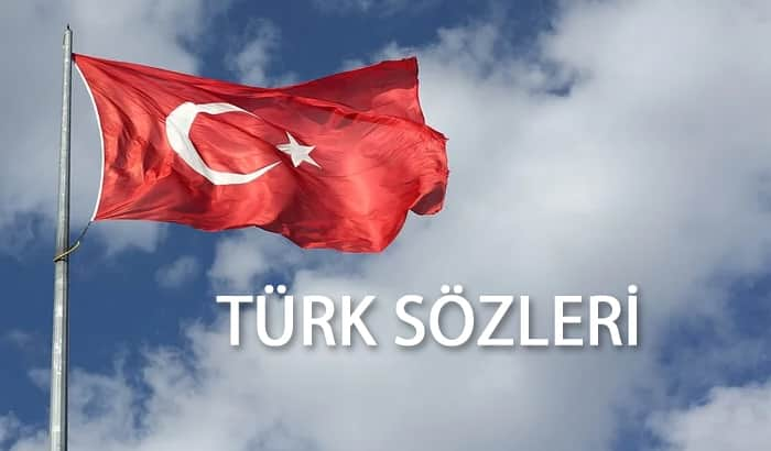 türk sözleri