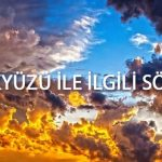 gökyüzü ile ilgili sözler
