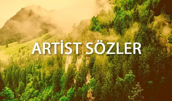 artist sözler